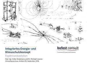 Ergebnispräsentation - Integriertes Energie- und Klimaschutzgesetz LK V-G