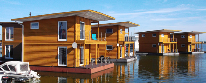 Floating Homes Baltic Sea Resort Kröslin